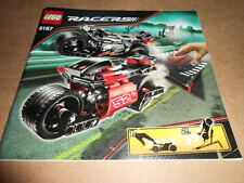 Vintage LEGO Instruction Manual Lego Racers Jump Riders 2009 8167