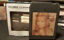 Barbra Streisand 8-Track Tape Greatest Hits New Pad/Splice 100% Play Ready A+