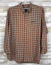 Ralph Lauren Mens Shirt Sz XXL Long Sleeve Multi Color Check Button Down Cotton