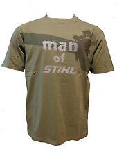 """Stihl T-Shirt Timbersports """"man of Stihl"""" olivgrün alle Größen Neu"""