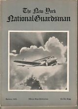 January 1936 issue The New York National Gusrdsman 32 pages military
