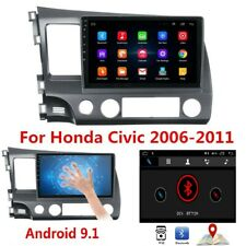 """10.1"""" Touch Screen Android 9.1 Stereo Radio GPS Navigation For Honda Civic 06-11"""