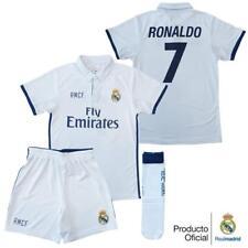 Conjunto Kit 1ª Equipacion REPLICA Oficial REAL MADRID Cristiano Temporada 16/17