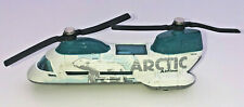 2001 MATCHBOX ARCTIC AIRLINE  RESCUE TRANSPORT DIECAST HELICOPTER W/ POLAR BEAR