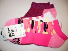 Happy Style Socks Sport Low Cut Socks 3 Pair Shoe Size 5.5-9.5 NEW #27