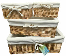 Willow Country Rectangular Decorative Baskets