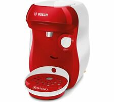 TASSIMO by Bosch Happy TAS1006GB Coffee Machine - Red & White - Currys