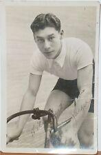 Circa 1920 Photo of Cycling Champion Charles Jaeger 1902-1971