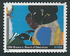 Scott #3937-j...37 Cent...A More Perfect Union...Brown vs Bd. of Ed...3 Stamps