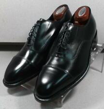 244971 ESCR50 Men's Shoe Size 8 E Black Crown Made in USA Johnston & Murphy