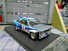 FIAT 131 Abarth Rallye Portugal 1981 Winner #1 Alen Crashed V Scala Trofeu 1:43