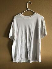 Mens White T-Shirt. Hanes XL