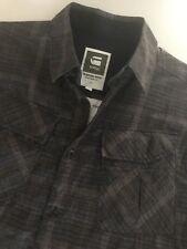 G Star Raw NWT Men's Shirt L/S Rack Fil 100% Cotton Size L