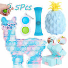 5 Pack Fidget Toys Set ADHD Bubble Llama Simple Diimple Kids Game Stress Relief
