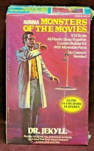 AURORA MONSTERS OF THE MOVIES DR. JEKYLL GID ASSEMBLY KIT NIB! ca 1975