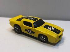 Hot Wheels Mattel 1969 Sizzlers - 1970 Camaro Yellow w/ Redlines Tires #2