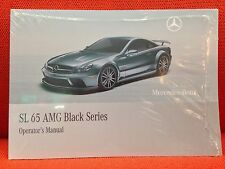NEW SEALED MERCEDES SL65 SL 65 BLACK SERIES AMG OWNERS MANUAL SEALED NEW  (OeM))