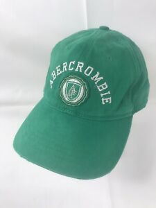 Abercrombie & Fitch Green OSFA Adjustable Hat
