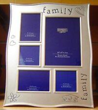 Famiglia 5 PICTURE Multi Silver Photo Frame gift-65205