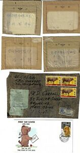JAPAN HONG KONG CHINA 1930s 70 COLLECTION OF 19 ITEMS INCLUDES 4 FOREIGN TELEGRA