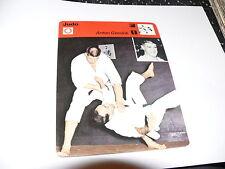 FICHE CARD : JUDO ANTON GEESINK 70S