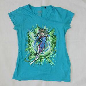 Overwatch DVA Blizzard Jinx Womens Tshirt   Size XL   Great Used Condition