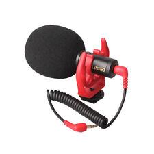 for Canon Nikon DJI Osmo DSLR Video Micro Microphone Compact On-Camera Recording