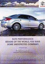 2010 Suzuki Kisashi Original Advertisement Print Art Car Ad J678