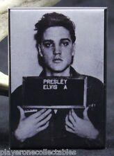 """Elvis Presley Mugshot 2"""" X 3"""" Fridge / Locker Magnet."""