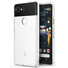 for Google Pixel 2 XL 2017 Case Ringke Fusion Crystal Clear PC Back TPU Bumper