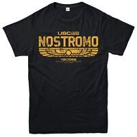 USCSS Nostromo Weyland Yutani T-Shirt Alien Top Gift Unisex Adult & Kids Tee Top