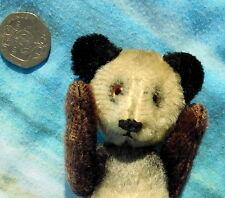 """Rare cutest antique vintage Schuco yes no Panda teddy bear 5"""" tall collectable"""