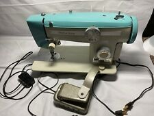 Vintage Stretch Stitch Model 100 Heavy Duty Sewing Machine #03402 Z5