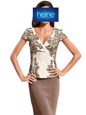Blusentop, Ashley Brooke By Heine. Taupe. NEU!!! KP 59,90 �'� SALE%25%25%25