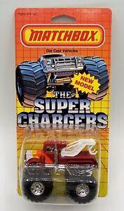 """""""MATCHBOX"""" SUPER CHARGERS SC10 TOAD PETERBILT WRECKER MONSTER TRUCK MOC"""