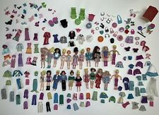 HUGE Polly Pocket Vintage Lot Dolls, Clothes, Shoes, Accessories, Pets