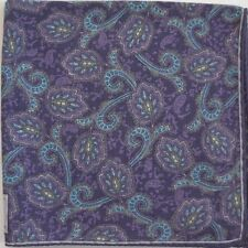 Authentic ROBERT TALBOTT Wool Blend Pocket Square Handkerchief