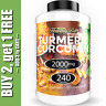 Turmeric Curcumin 2000 mg High Absorption Extra Strength Vegan Capsules 240 Ct