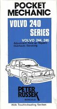 Volvo 240 244 245 Repair Guide Manual B 19 21 23 Adjustment Overhaul 1976-82 NEW