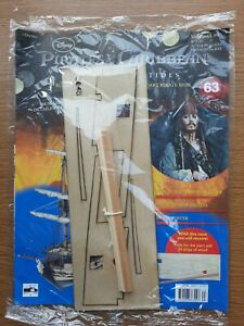 Hachette Pirates of the Caribbean Build the Black Pearl Pirate Ship issue 63