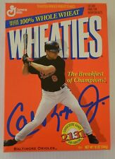 Cal Ripken Unopened Wheaties  Box 2131 Consecutive Games Baltimore Orioles