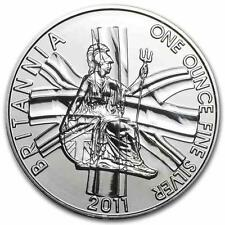 New 2011 UK Great Britain Silver Britannia 1oz Bullion Coin in original RM Seal