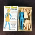 Marx Johnny West Adventure JANE WEST with Box & Accessories