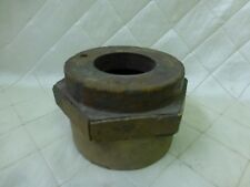 """Wood Foundry Casting Mold Pattern Large Nut Bolt Steampunk Industrial Art 4 1/2"""""""