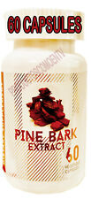 PINE BARK EXTRACT 60 CAPSULES 200mg BEST DEAL compare Pycnogenol French Maritime