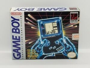 Original Nintendo Game Boy DMG-01 Tetris Bundle (BOX & INSERT ONLY)