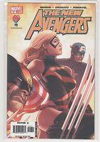 New Avengers #17 Brian Bendis Spiderman Wolverine Iron Man Captain Marvel 9.6