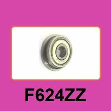 F624ZZ 4*15*5 mm Flange Ball Bearing Metric flanged Bearing 3D Printer