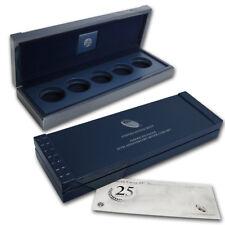 2011 American Eagle 25th Anniversary Silver Coin Set Box w/COA All OGP (No Coin)