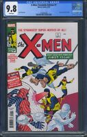 X-Men 1 (Marvel) CGC 9.8 White Pages Facsimile Edition Reprint Jack Kirby Cover